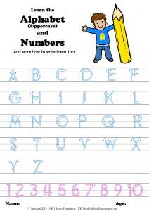 alphabetsheet