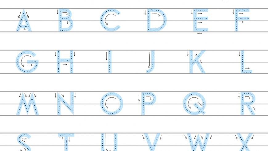 Learn the Alphabet & Numbers (and how to write them, too)
