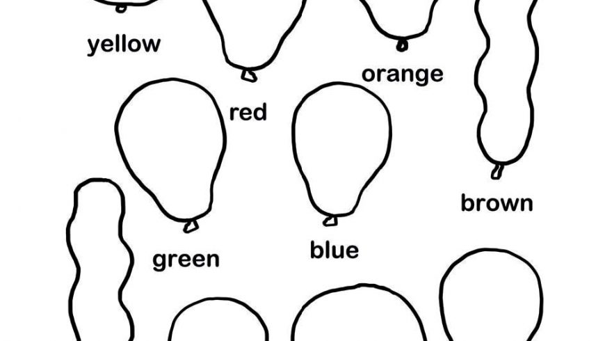 Learn Your Colors (by coloring balloons)