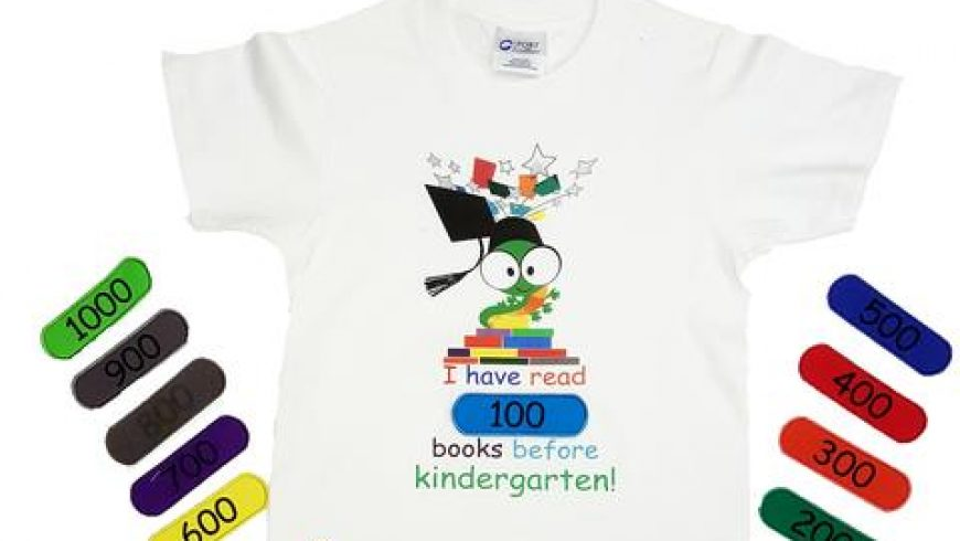 EduWear has Teamed up with the 1000 Books Foundation to Promote a New Line of Interactive Clothing