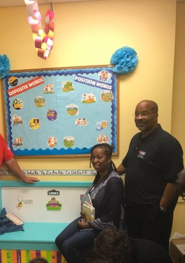 The Southern New Jersey Early Intervention Collaborative, Cumberland County Council for Young Children, LOWE'S, and the 1000 Books Foundation Team-Up to Provide Six (6) Free Children's Lending Libraries