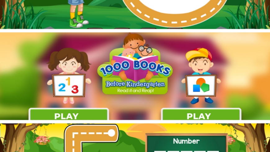 1000 Books Before Kindergarten Numbers & Shapes FREE App